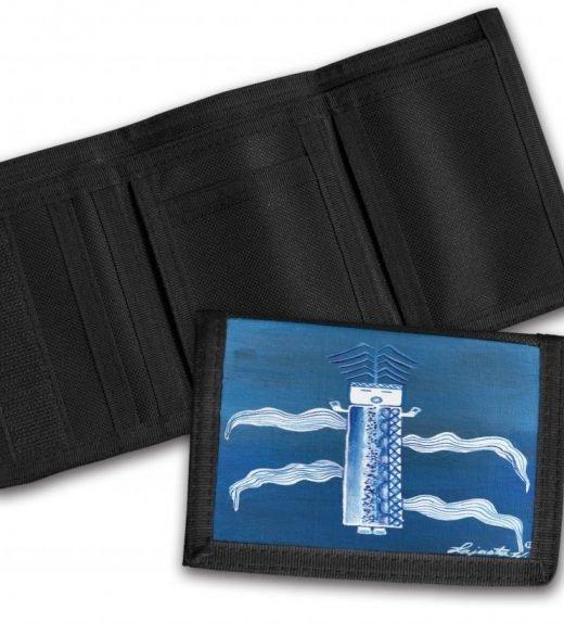 Blue-Corn-Tri-Fold-Wallet