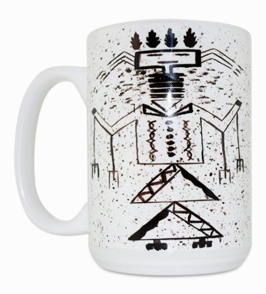 Talking God 15 Oz Mug (Left Side)