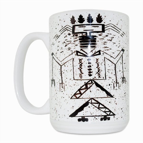 Talking God 15 Oz Mug (Left Side)
