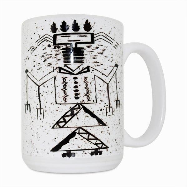 Talking God 15 Oz Mug (Right Side)