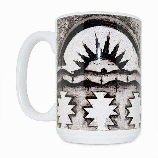 Morning Blessings 15 Oz Mug (Left Side)