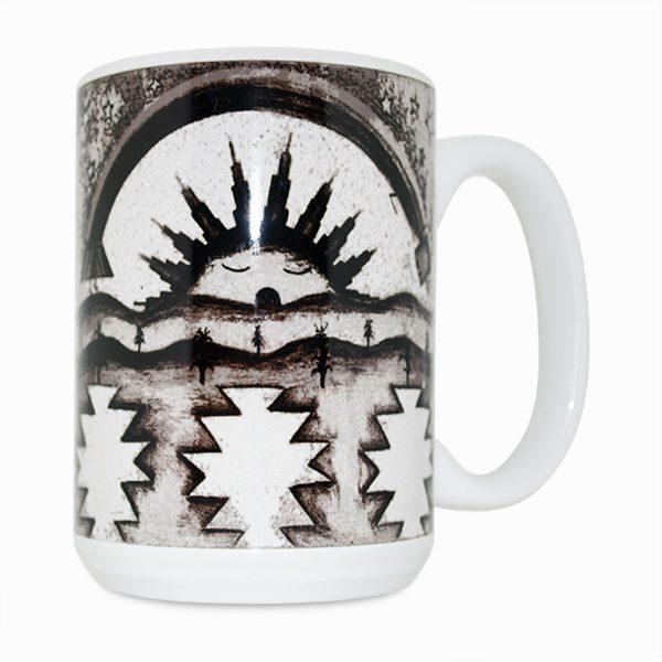 Morning Blessings 15 Oz Mug (Right Side)
