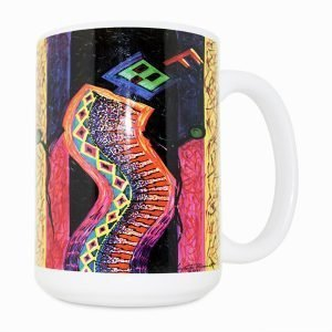 Enthusiastic Dancer 15 Oz Mug (Right Side)