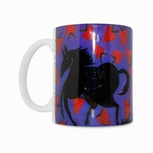 Strawberry 11 Oz Mug (Left Side)
