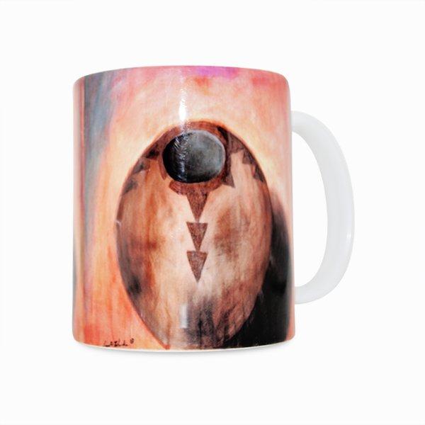 Navajo Pottery 1 11 Ounce Mug (Left Side)