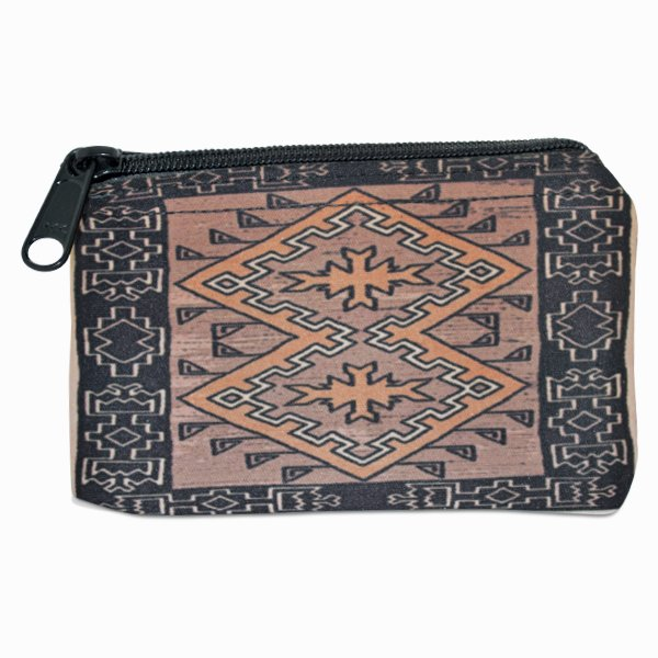 Klagetoh Navajo Rug Design on a Coin Purse