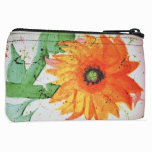 Sunflower Navajo Art on Coin Purse