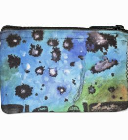 Navajo Milky Way Navajo Art on Coin Purse