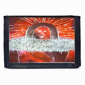 """Nine Day Ceremony"" Navajo Art Tri-Fold Wallet"