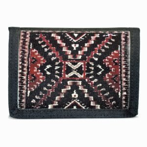 Crystal Rug Design on Tri-Fold Wallet