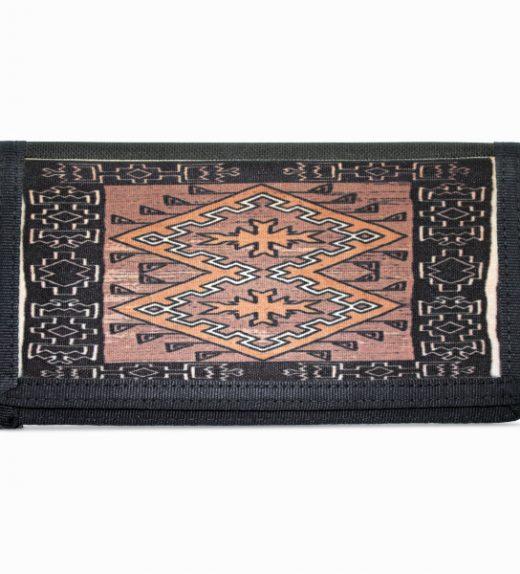 Klagetoh Navajo Rug Design on Bi-Fold Wallet