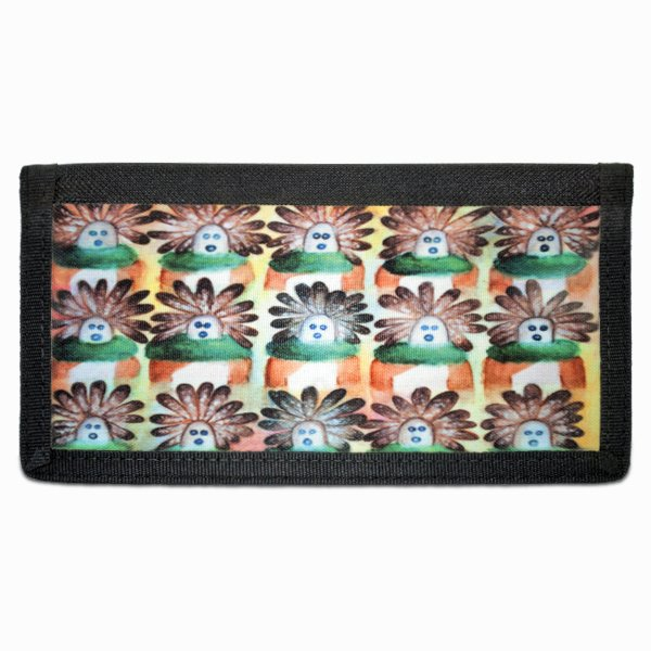 15 in the Beginning Navajo Art on Bi-Fold Wallet