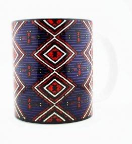 Navajo Chiefs Rug Design on a 15 Oz Classic Mug