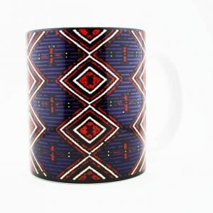 Navajo Chiefs Rug Design on a 15 Oz Classic Mug
