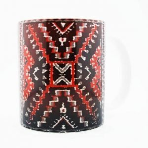 1930's Navajo Crystal Rug Design on a 15 Oz Classic Mug