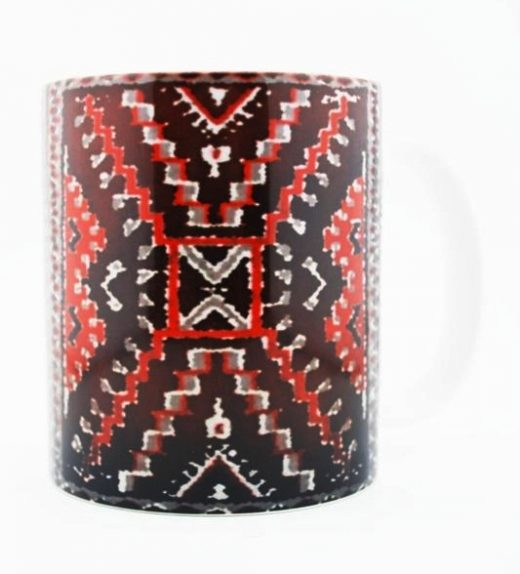 1930's Navajo Crystal Rug Design on a 15 Oz Classic Mug