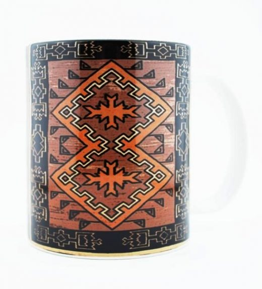 Navajo KlagetNavajo Klagetoh Rug Design on a 11 Oz Classic Mug (Right Side)oh Rug Design on a 11 Oz Classic Mug