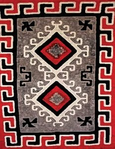 1930's Ganado Rug Navajo Art