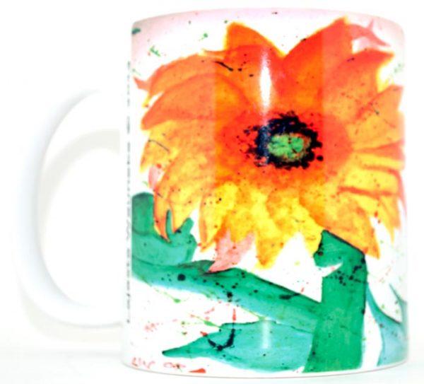 Sunflower 11 Oz Mug Right Side