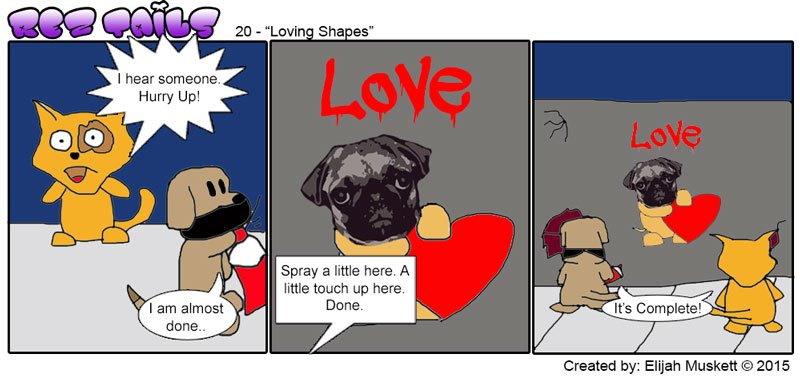 Rez Tails - 20 Loving Shapes