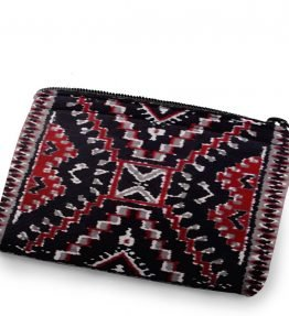 """Crystal Rug"" Navajo Art on a Coin Purse"