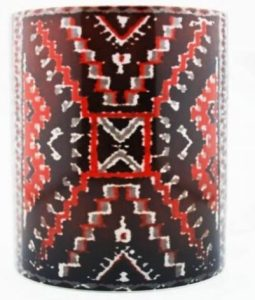 Navajo Indian art on coffee mugs