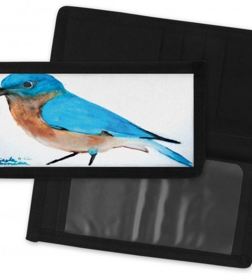 Bluebird-Checkbook-Cover