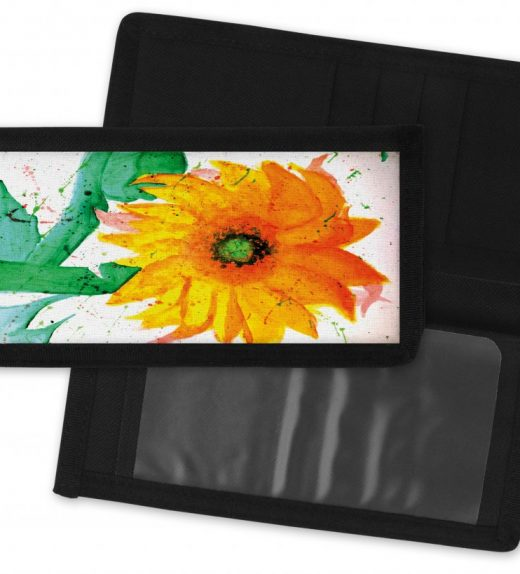 Sunflower-Checkbook-Cover