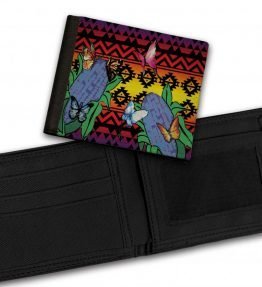 Butterflies-Repose-Bill-Fold-Wallet