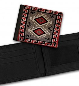Ganado-Red-Rug-Bill-Fold-Wallet