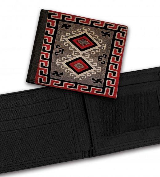Ganado-Red-Rug-Bill-Fold-Wallet