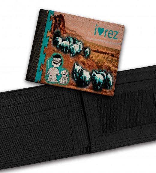 I-Heart-Rez-Bill-Fold-Wallet