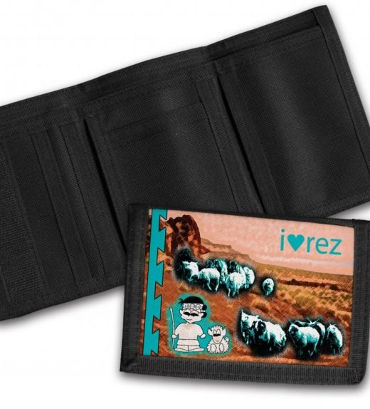 I-Heart-Rez-Tri-Fold-Wallet