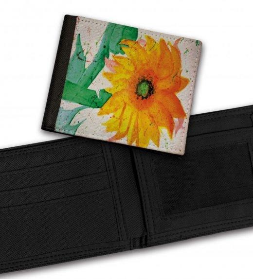 Sunflower-Bill-Fold-Wallet