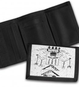 Talking-God-Tri-Fold-Wallet