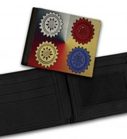 Tribal-Pattern-11-Bill-Fold-Wallet
