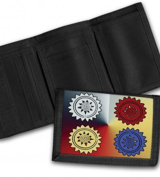 Tribal-Pattern-11-Tri-Fold-Wallet