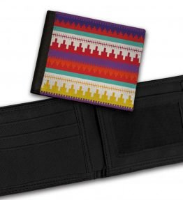 Tribal-Pattern-3-Bill-Fold-Wallet