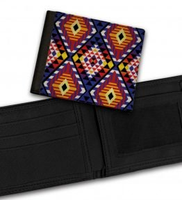 Tribal-Pattern-4-Bill-Fold-Wallet