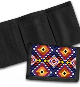 Tribal-Pattern-4-Tri-Fold-Wallet