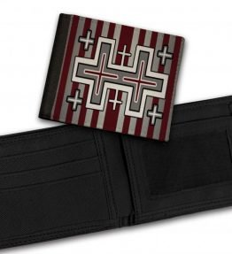 Tribal-Pattern-6-Bill-Fold-Wallet