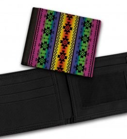 Tribal-Pattern-7-Bill-Fold-Wallet