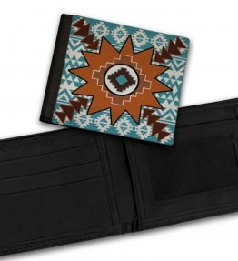 Tribal-Pattern-8-Bill-Fold-Wallet