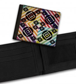 Tribal-Pattern-9-Bill-Fold-Wallet