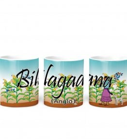 """Bilagaana (Anglo)"" Navajo Clan 11 Oz Mug with Harvest the Corn Background"