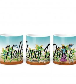 Meadow People w Turq BG 11 oz mug