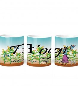 Weavers w Turq BG 11 oz mug