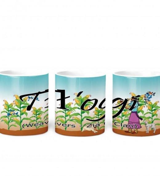 Weavers w Turq BG 11 oz mug