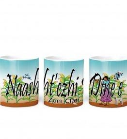 Zuni w Turq BG 11 oz mug