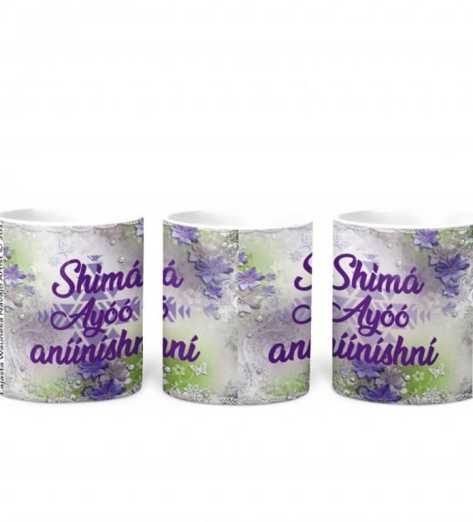 i love you mom purple flowers